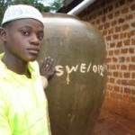 """Safe Water Project"" i Uganda finansierat av AMREF Sweden's givare"