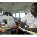 AMREF Flying Doctors evacuation flight