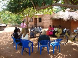 Möte med Village Health Team