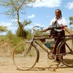 AMREFs julkampanj säljer begagnade cyklar