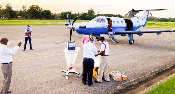 Amref Flying Doctors redo att nå 600 000 hälsovårdare 8 Afrikanska länder